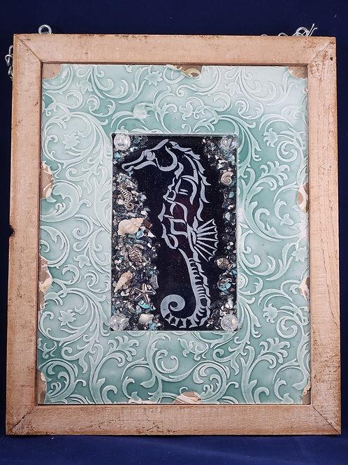 SeaHorse Ceramic 5x7