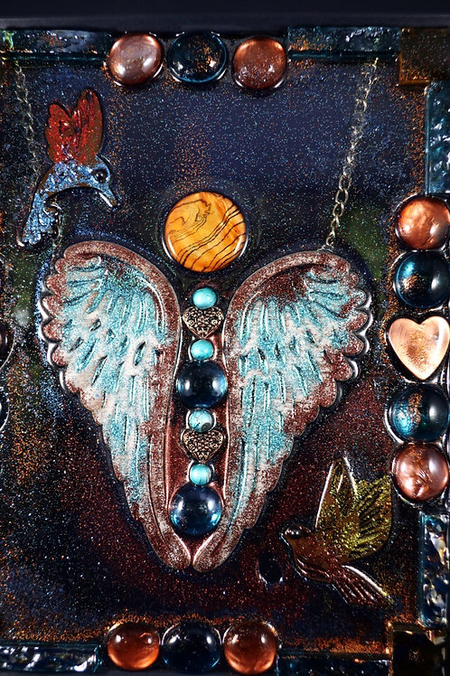 Turquoise Angel 8 x10
