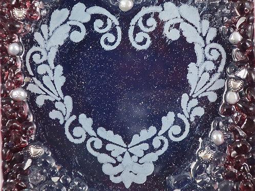 Sparkle Heart 5x7