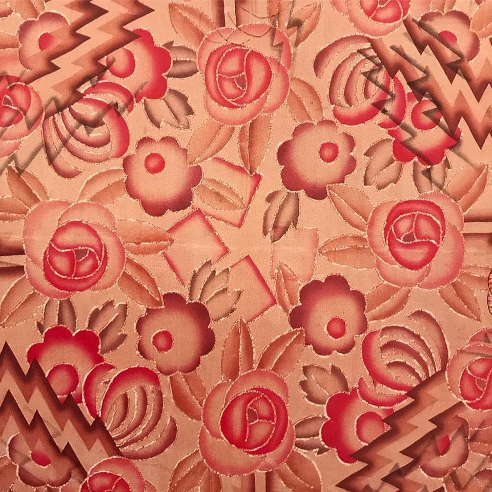 1930s vintgae scarf print