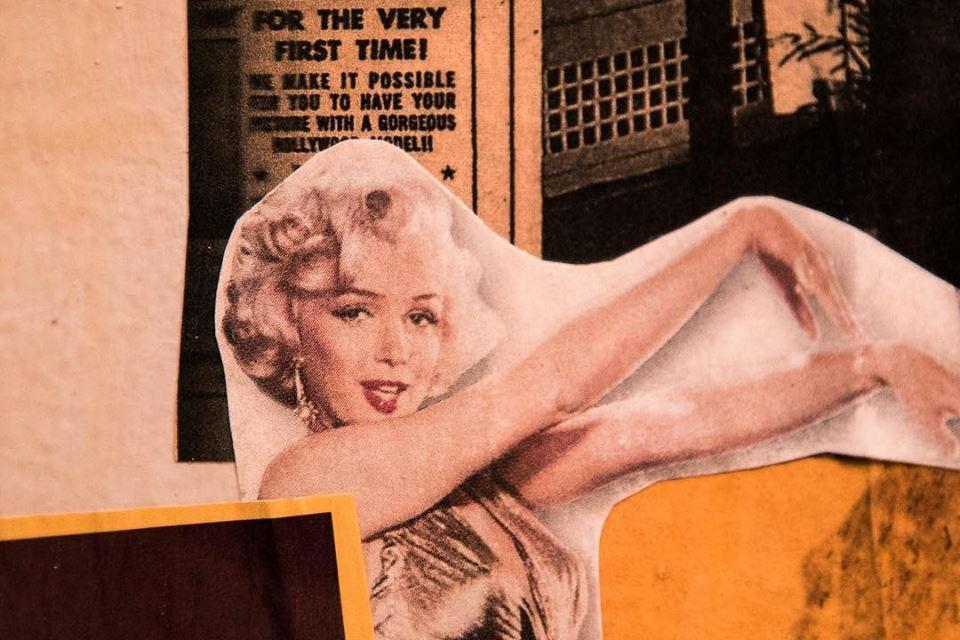 Marilyn Monroe on the La Mi Collage