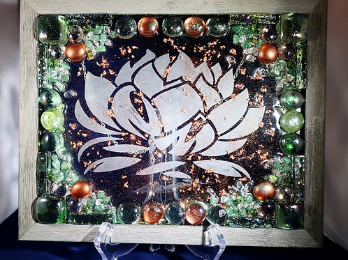 Copper Lotus 8x10