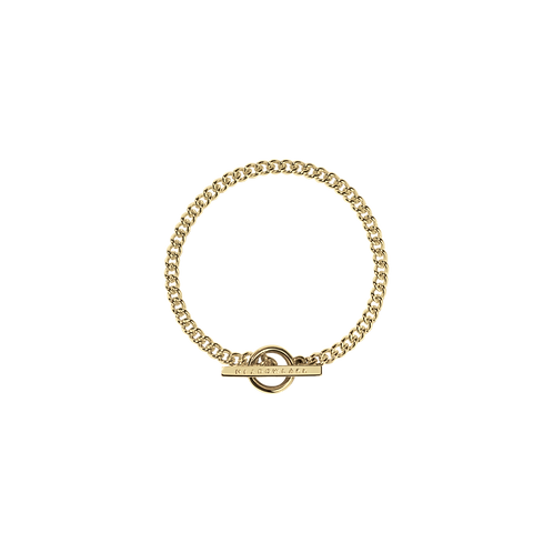Meadowlark Fob Bracelet Stg silver yellow gold plated- brafobgp