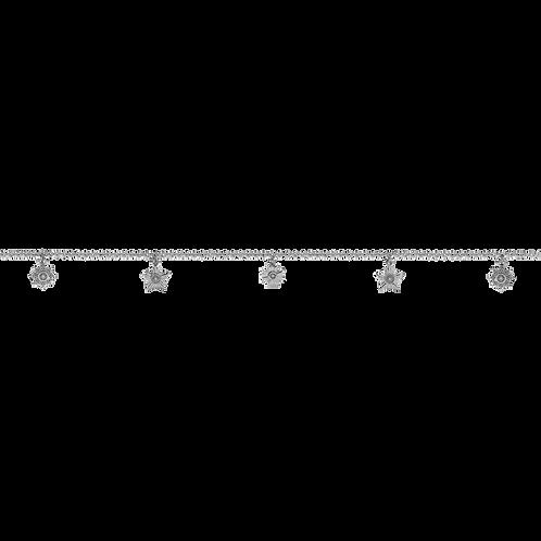 Meadowlark Stg silver Maiden Ankle Bracelet - chbmaiss