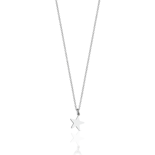 Meadowlark Stg silver Star charm necklace - chnstass