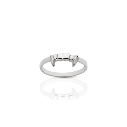 Meadowlark Stg Silver Fang Stacker Ring $99 stafan