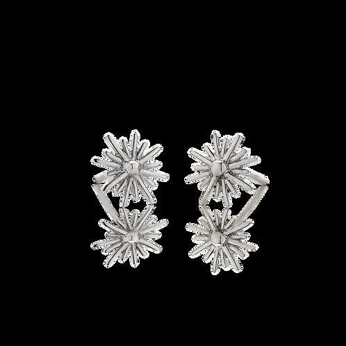 Meadowlark Stg silver Spur stud earrings - stuspuss