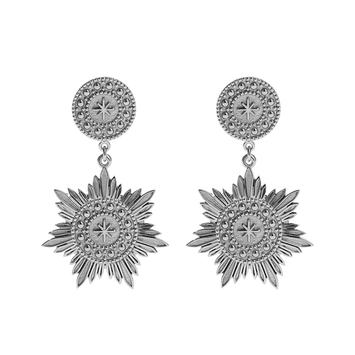 Meadowlark Stg silver Soren Drop Earrings - drosdess