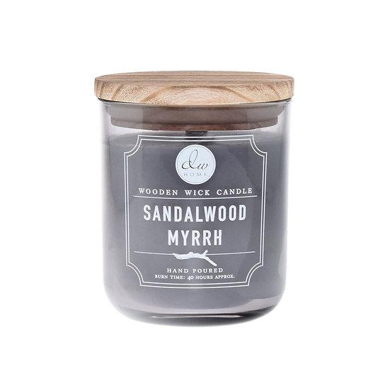Sandalwood Myrrh Wooden Wick