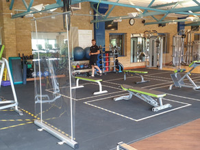 Sessions available at Oxford Brookes Sport from 1st October