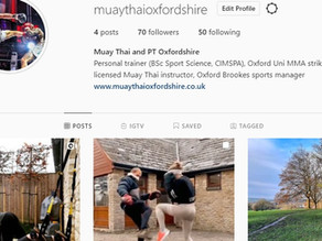 New Instagram page and YouTube link now live