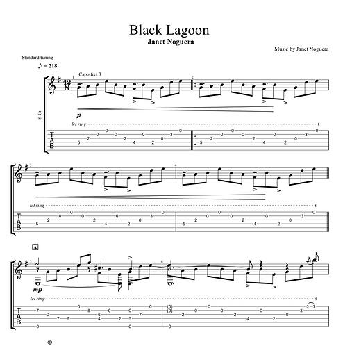 Black Lagoon Tab