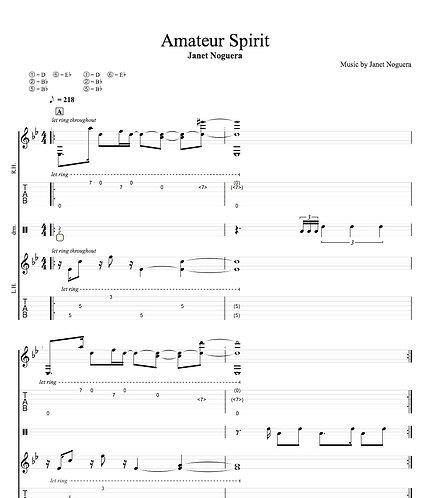 Amateur Spirit Tab