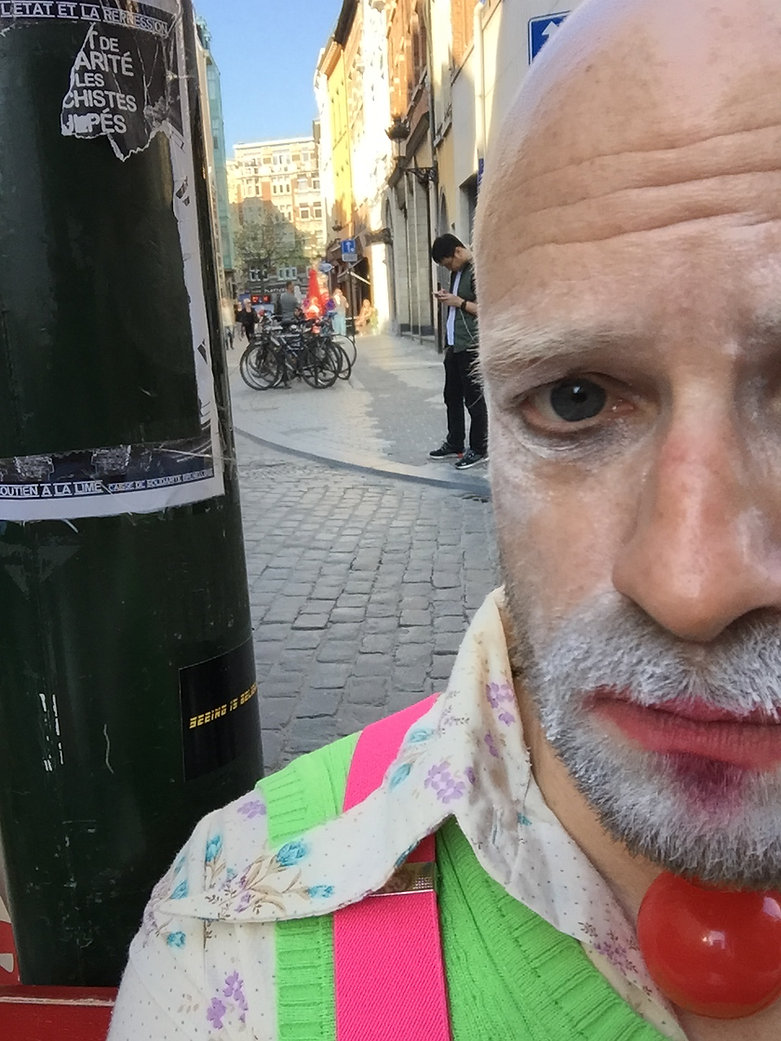 Ralf street clown.JPG