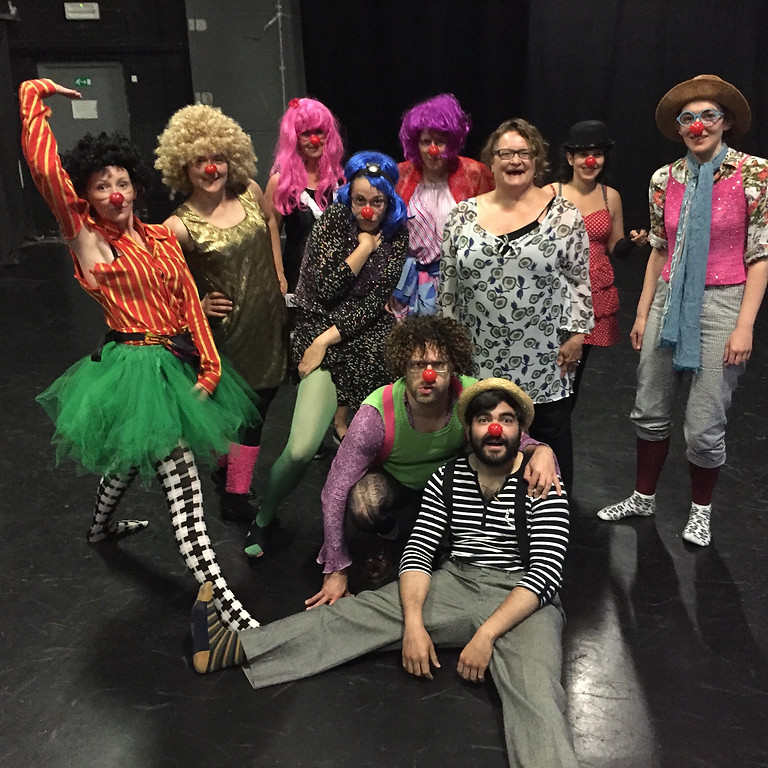 Clowning for leading, coaching and life (I): beginner madness