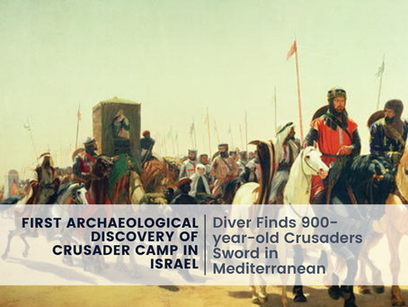 First Archaeological Discovery of Crusader Camp in Israel