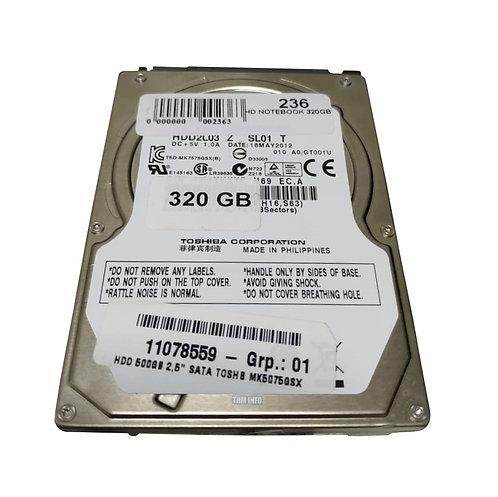 HD Notebook 320GB Seagate