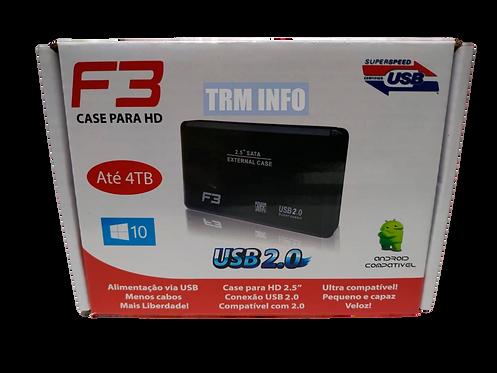 CASE HD EXTERNO USB 3.0 ATÉ 4TB (NOTEBOOK)