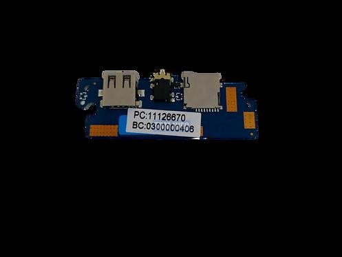 PLACA ÁUDIO USB 15-N1401-USB-CON-V2.3 POSITIVO MOTION Q232A