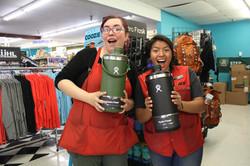 HUGE Hydro Flasks!