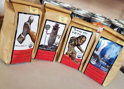 Locally made, and made just for us by _roasters! _Pick up a bag of beans along with a mug because th