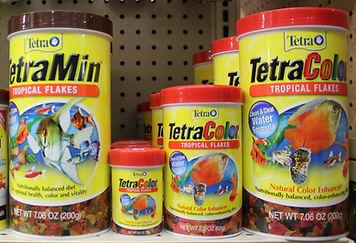 Terta tropical flake food