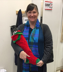 Winner of 2017 stocking giveaway!