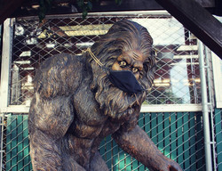 sasquatch with mask