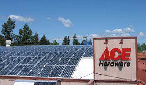 Sebastopol Hardware solar power