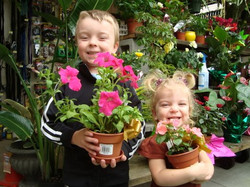 Mother's Day flower potting