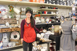 Christy in housewares