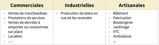 BIC : Bénéfices Industriels et Commerciaux