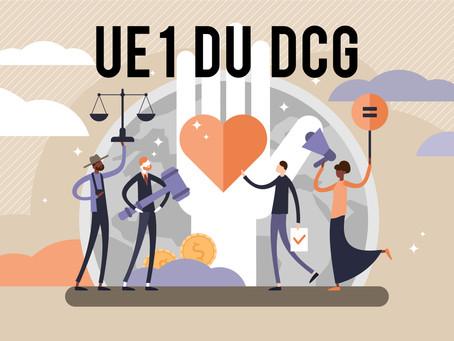 Qu'est-ce que l'UE 1 du DCG ?