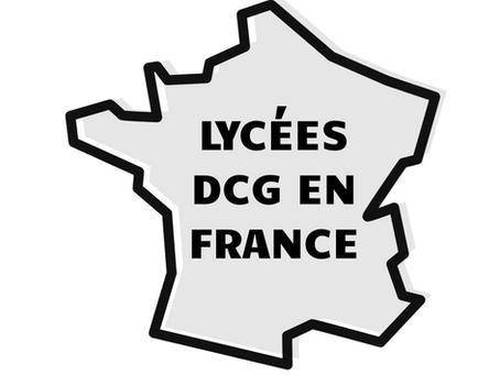 Les lycées du DCG en France