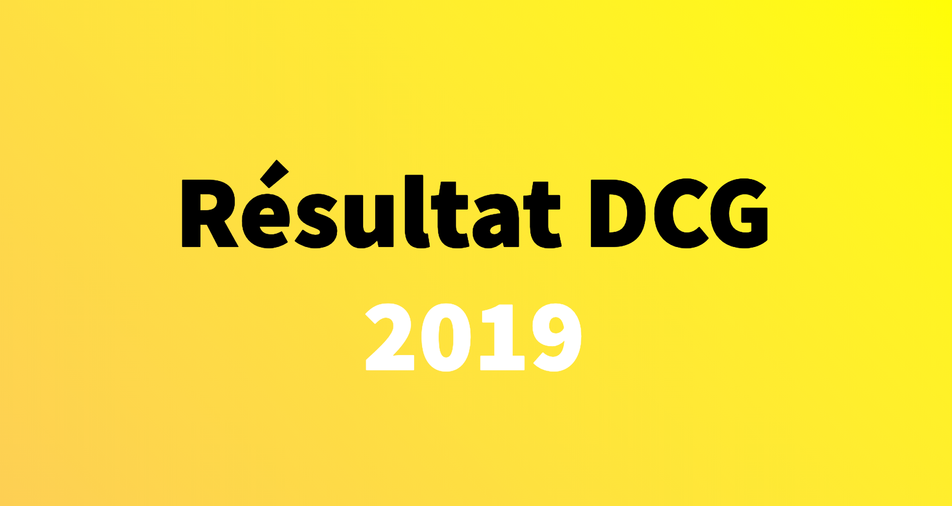 Calendrier Dscg 2019.Resultat Dcg 2019