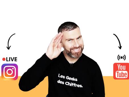 Reconfiné : Les Lives des Geeks des Chiffres