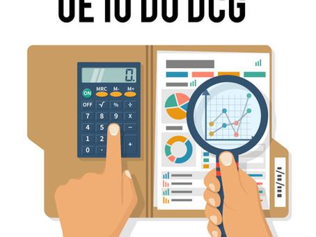 Qu'est-ce que l'UE 10 du DCG ?