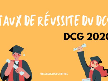 Taux de réussite national du DCG en 2020