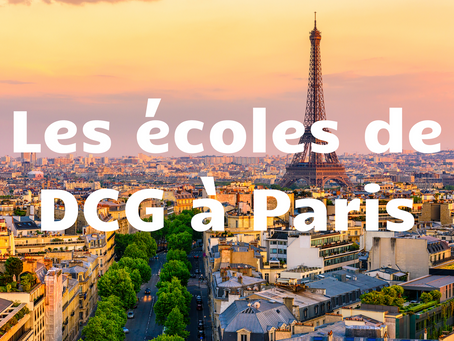 Les écoles de DCG à Paris