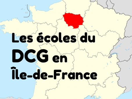 Les écoles du DCG en Île-de-France