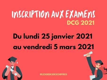 DCG 2021 : Inscription ouverte