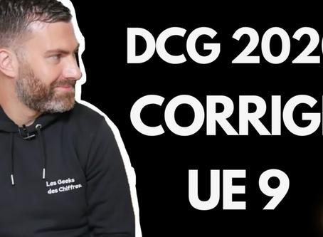 Sujet et Corrigé DCG U9 - Comptabilité 2020