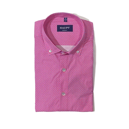 Haupt Pink/Blue Button Front Shirt