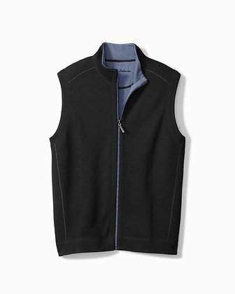 Tommy Bahama Reversible Vest (Black/Blue)