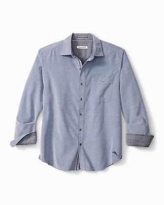 Tommy Bahama Cord Shirt (Bering Blue)