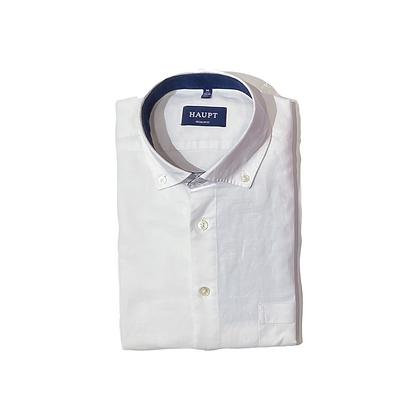 Haupt Linen Long Sleeve Shirt in White
