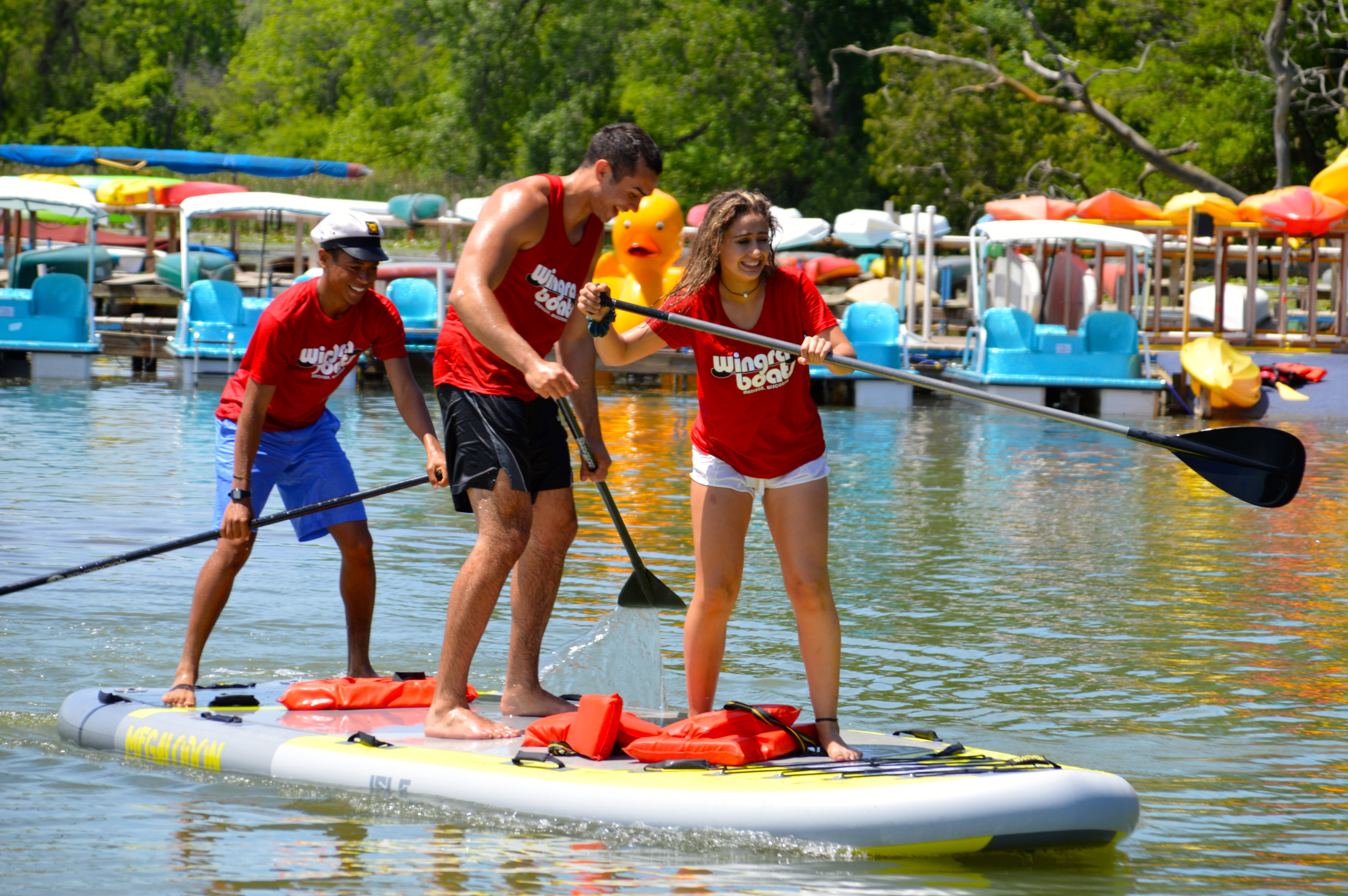 Wingra Park Madison If This Is What >> Boat Rentals At Wingra Brittingham And Marshall Boats