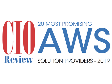PTP: 20 Most Promising AWS Solution Providers - 2019!