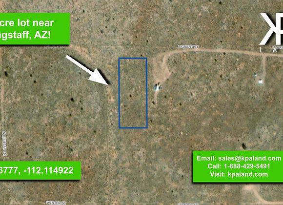 1 Acre Vacant Lot #2 in Williams, AZ (APN: 501-42-076)