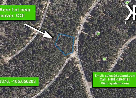 .34 Acre Vacant Lot in Clear Creek, CO (APN: 1837-034-07-010)